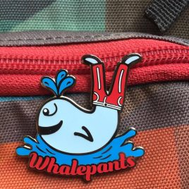 WhalePants Pin